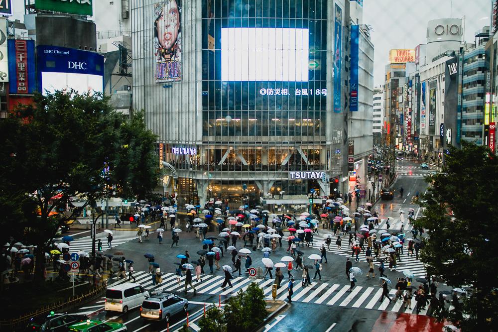 carrefour Shibuya Japon